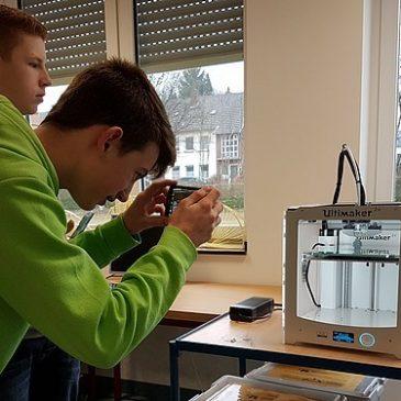 3D Design & 3D Druck in der Gesamtschule Nettetal