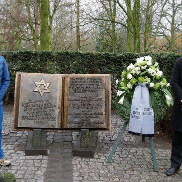 Stadt gedenkt der Opfer des Holocaust