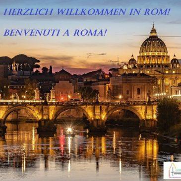 Herzlich Willkommen in Rom