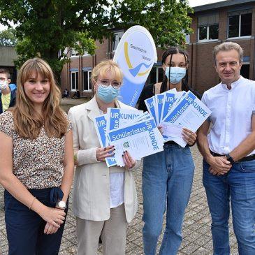 Bürgermeister Küsters würdigt unsere Schüler